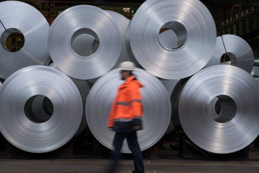 Exportaciones de acero de México