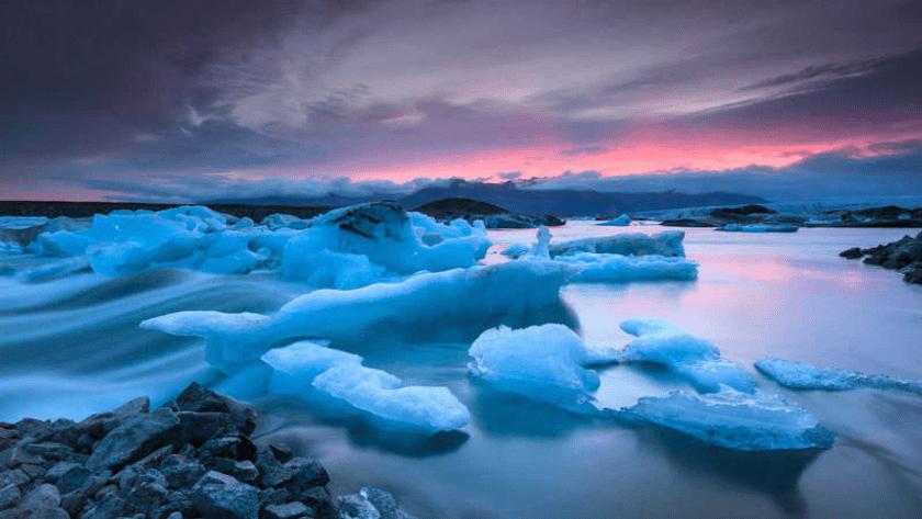 glaciares, deshielo