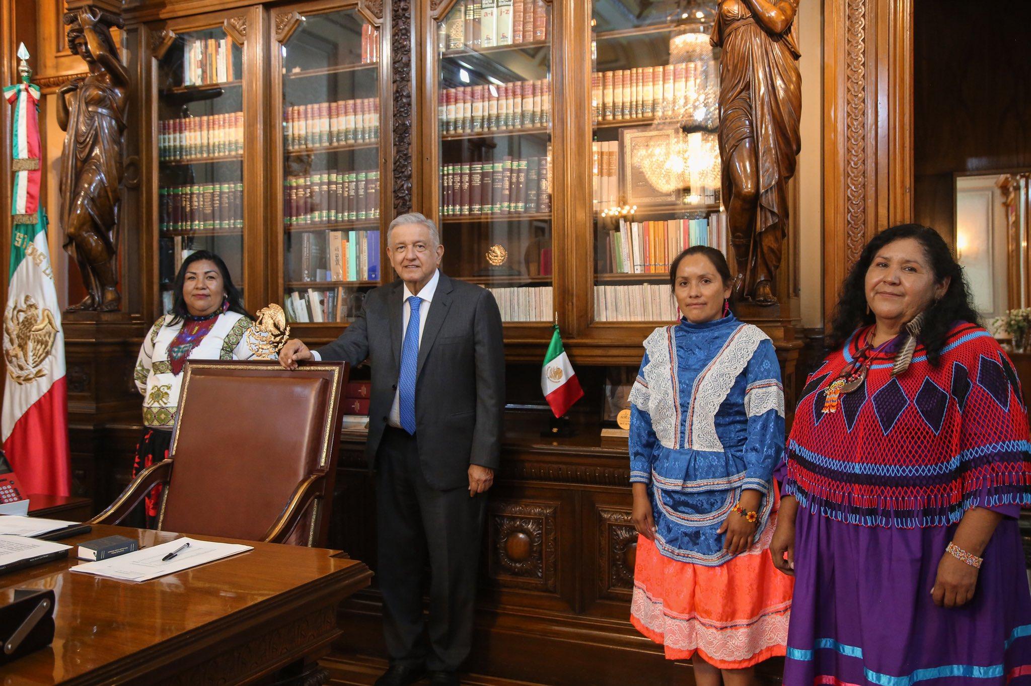 terna de mujeres indígenas para dirigir Conapred