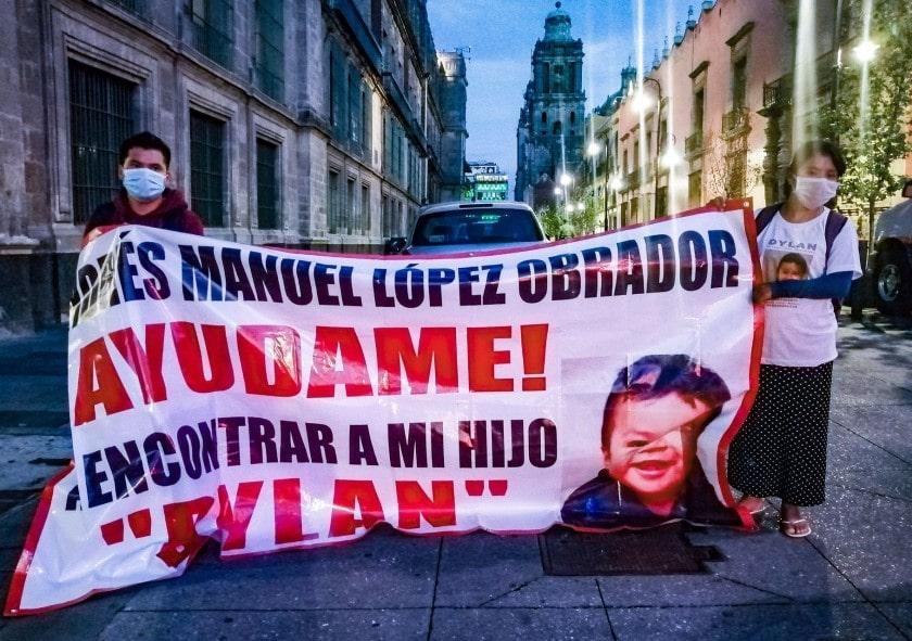 Niño Dylan secuestrado en Chiapas