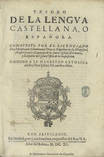 Diccionario de Covarrubias
