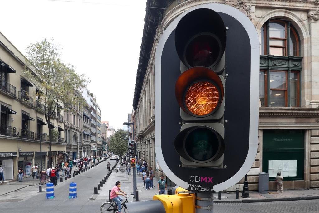 El semáforo COVID-19 de la CDMX