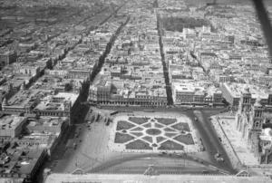 Zocalo, centro historico de la ciudad de México