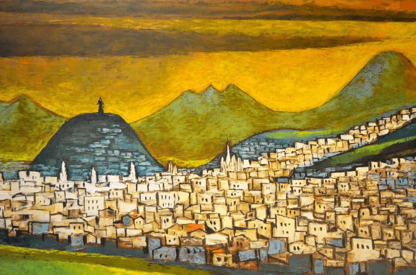vista de Quito, Ecuador