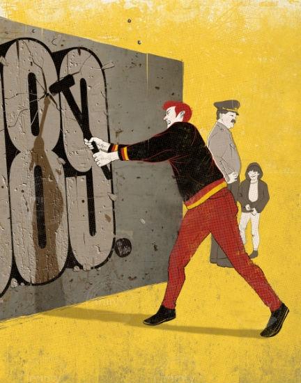 muro de berlin democracia