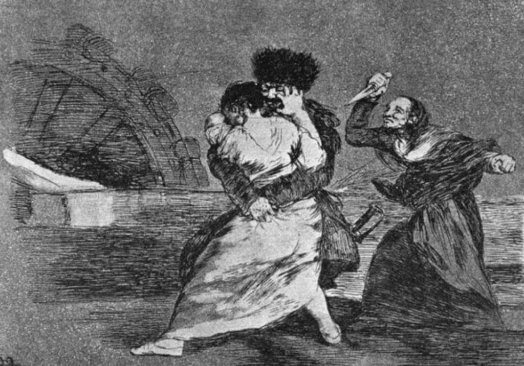 Aguafuerte de Goya