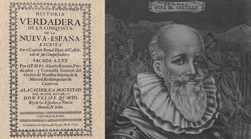 Bernal Díaz del Castillo, Historia Verdadera