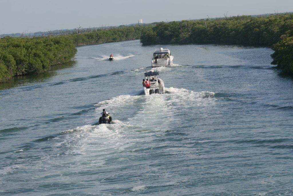 Laguna de Nichupté en Cancún