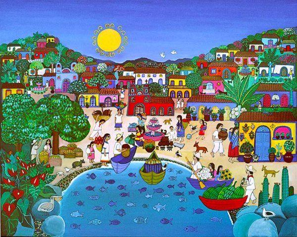 pinturas, oleos de Chile