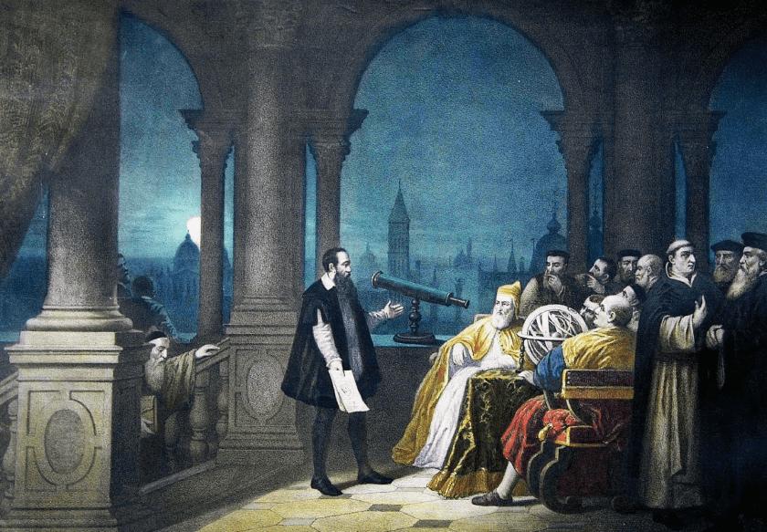 Galileo y el santo oficio