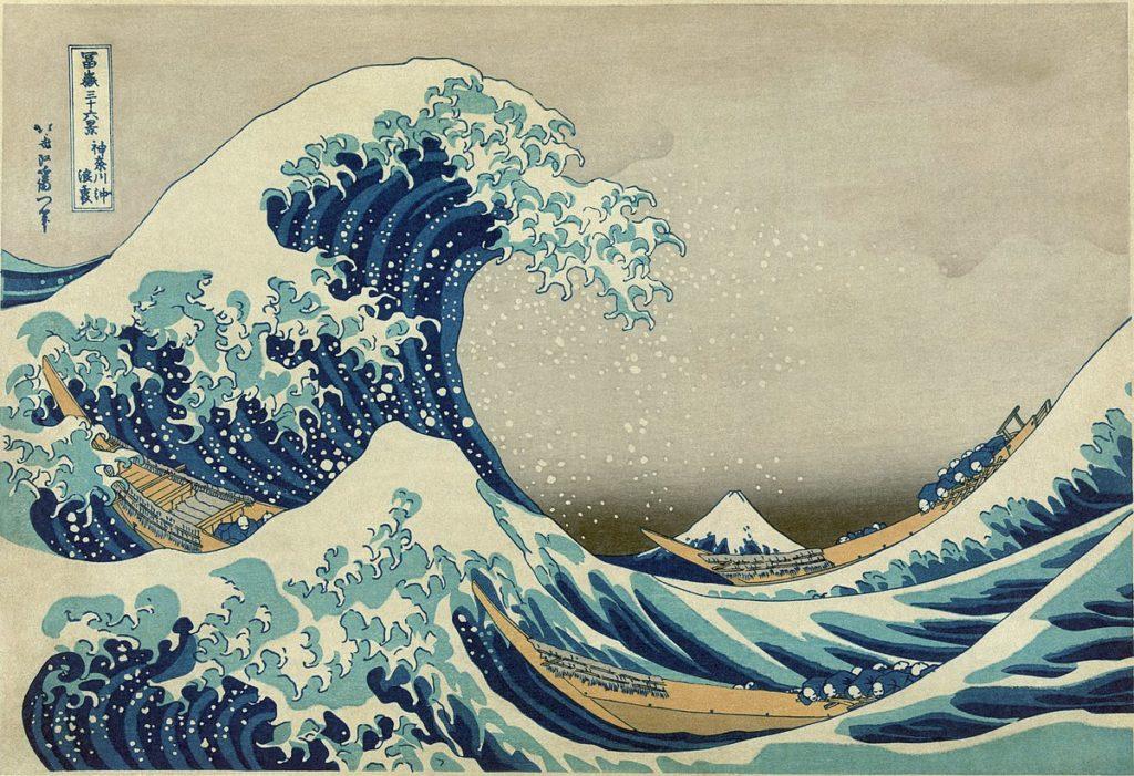 La Gran Ola de Kanagawa, Katsushika Hokusai