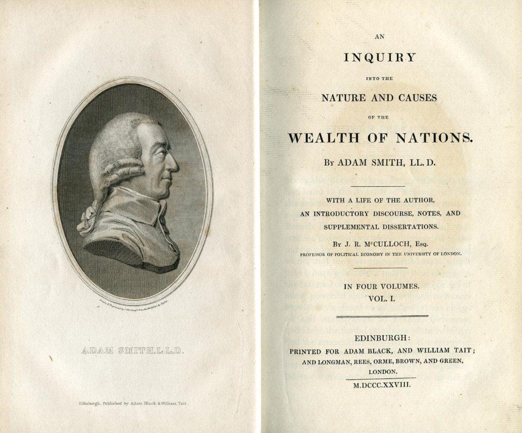 libro de Adam Smith