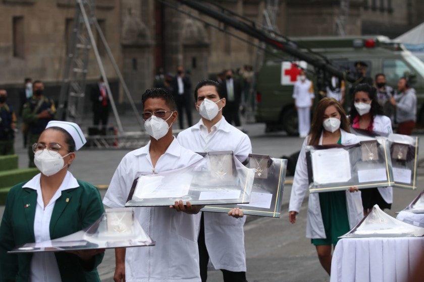 Personal médico en México los más vulnerables frente el covid