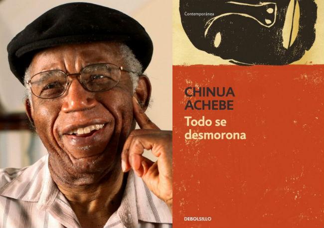 plumas africanas Chinua Achebe