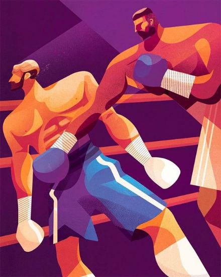 lamento de boxeador