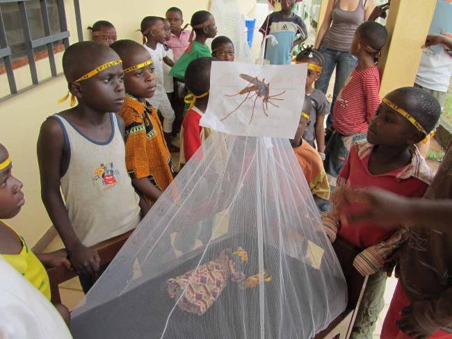 cubrebocas malaria