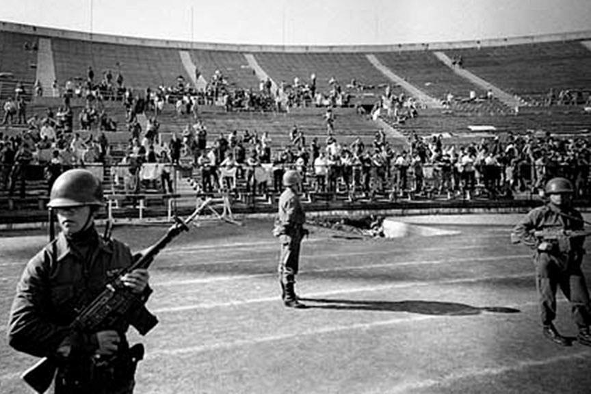 Estadio Nacional, Golpe de Estado Chile