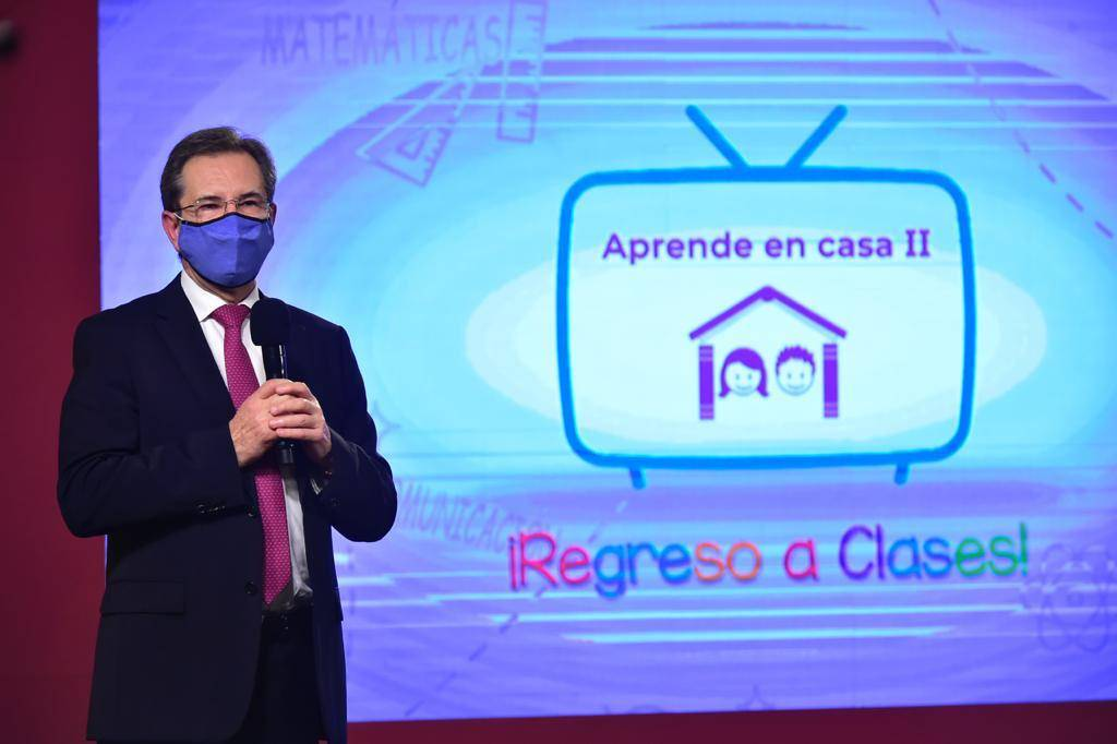 Presenta Esteban Moctezuma avances del programa Cuenta Aprende en Casa II