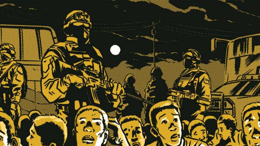 estudiantes de Ayotzinapa, novela grafica