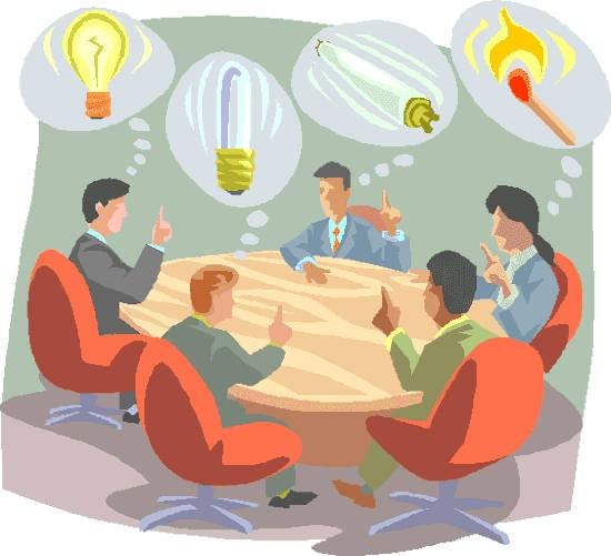 reunión laboral