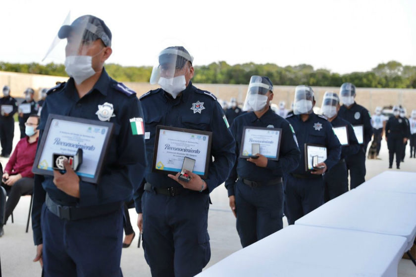 reconocimiento policias