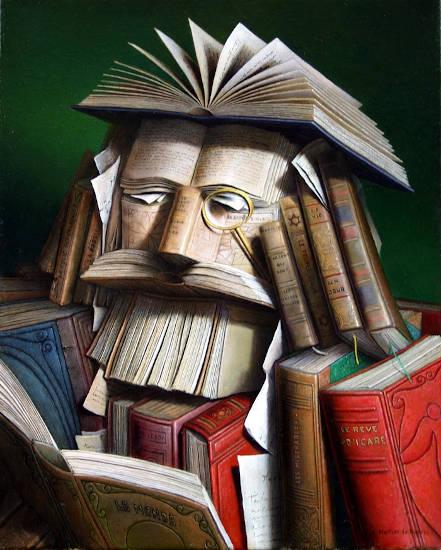 libros y surrealismo