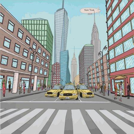calles en la ciudad