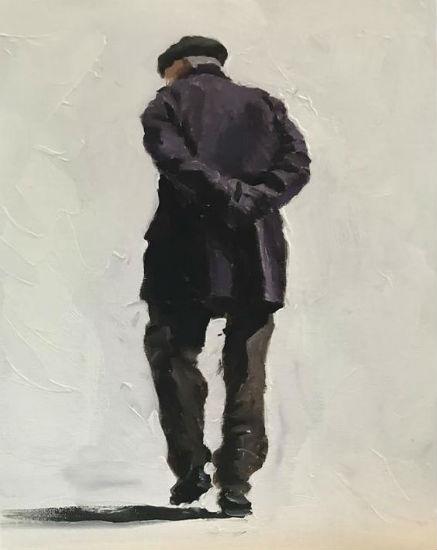pintura, oleo, James Coates