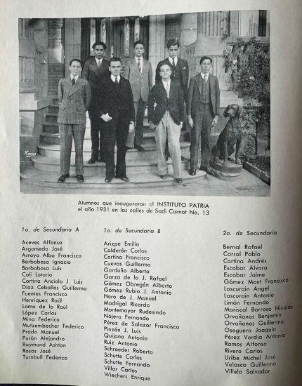 alumnos Patria