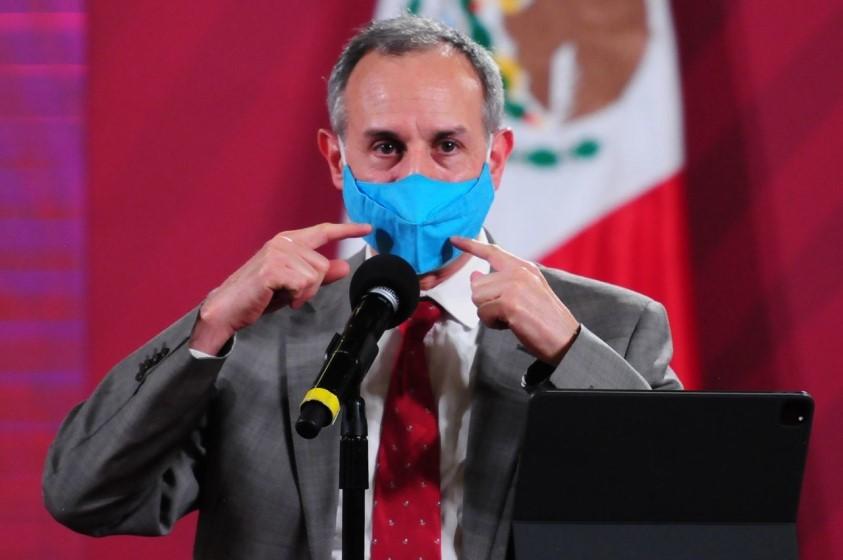 Hugo López-Gatell da un Coronavirus en México