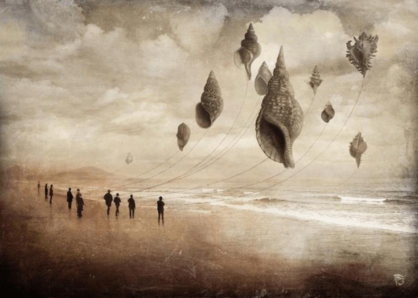 pinturas surrealistas, Christian Schloe