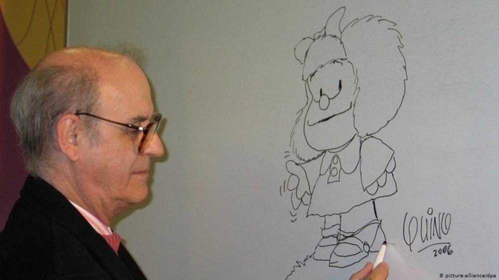 Murió Quino historietista creador de Mafalda a los 88 años