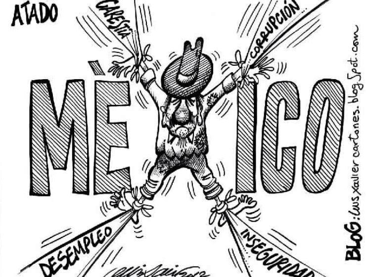 Mexico ahorcado, estirado