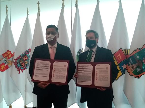 Academia de Policía de Juárez obtuvo su registro en el Sistema Nacional de Seguridad Pública.