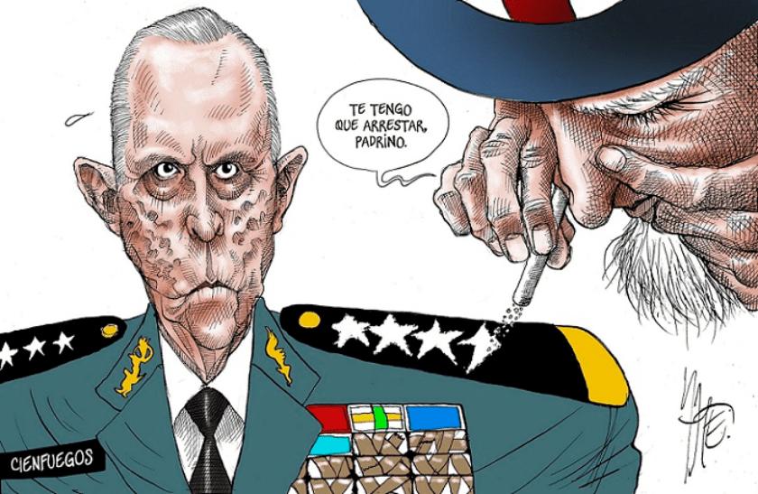general Cienfuegos Zepeda
