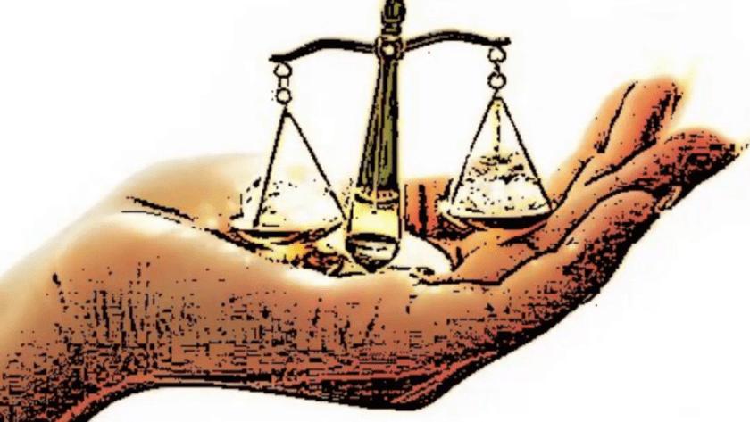 derechos humanos, balanza