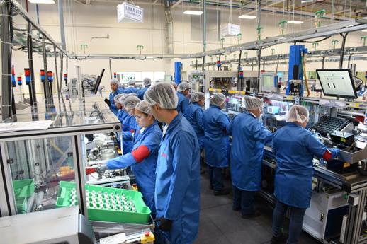 En plena crisis por la pandemia el empleo en San Luis Potosí va en ascenso.