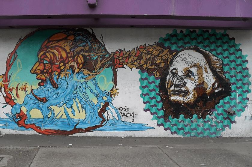 Grafittis del Circo Volador (