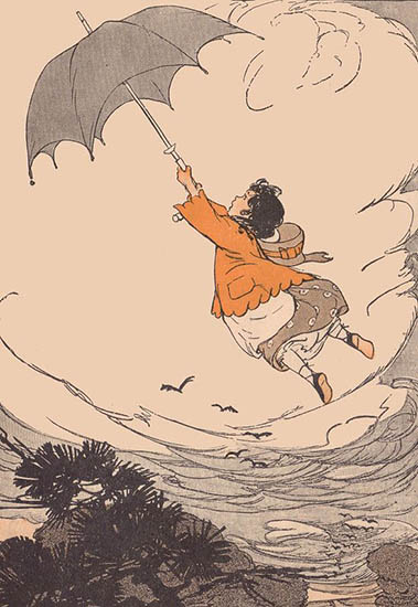 volar al viento