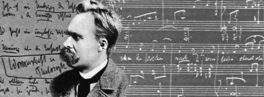 Nietzsche y pentagrama musical