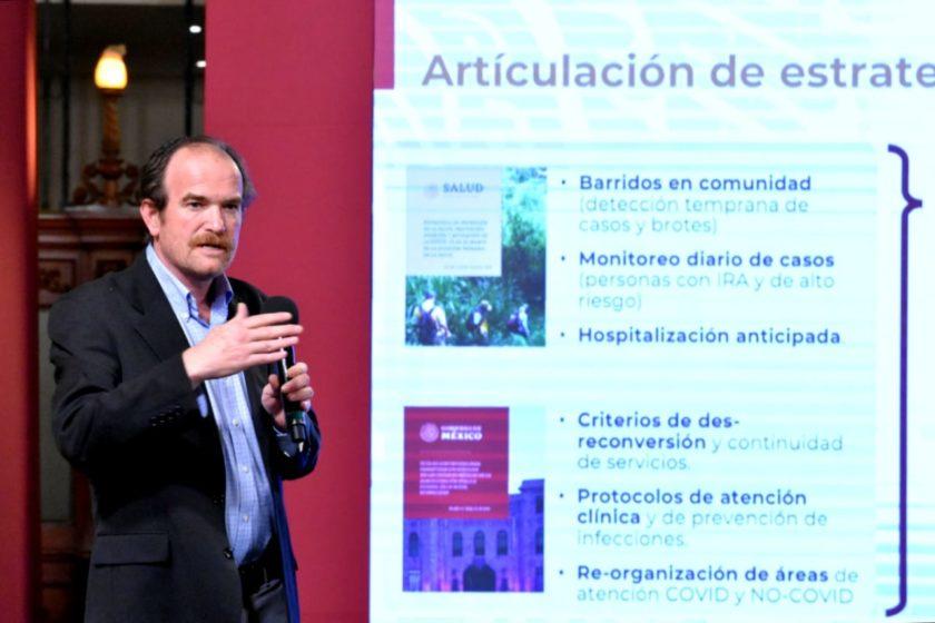 Ruy López, de la Secretaría de Salud
