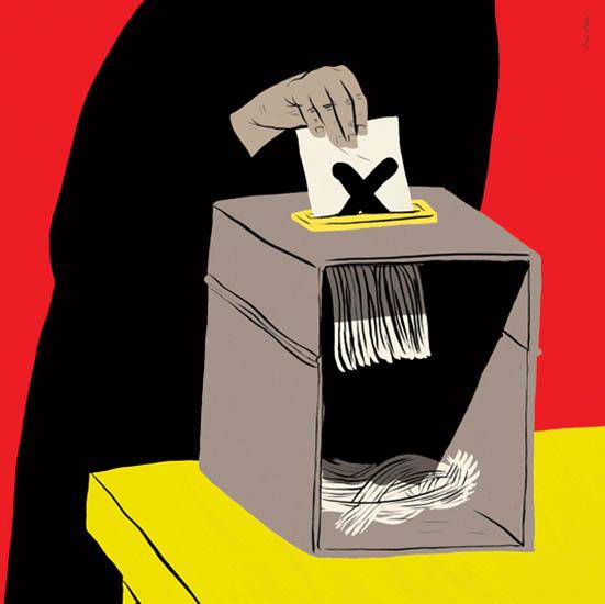 vota por la democracia
