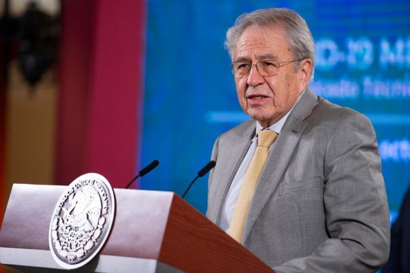 Secretario de Salud, Jorge Alcocer.