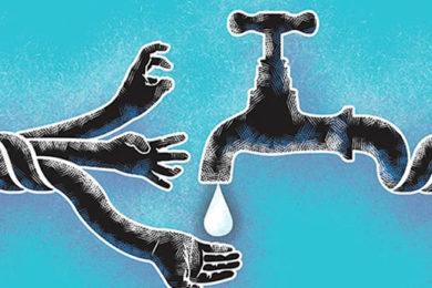 huella hidrica agua