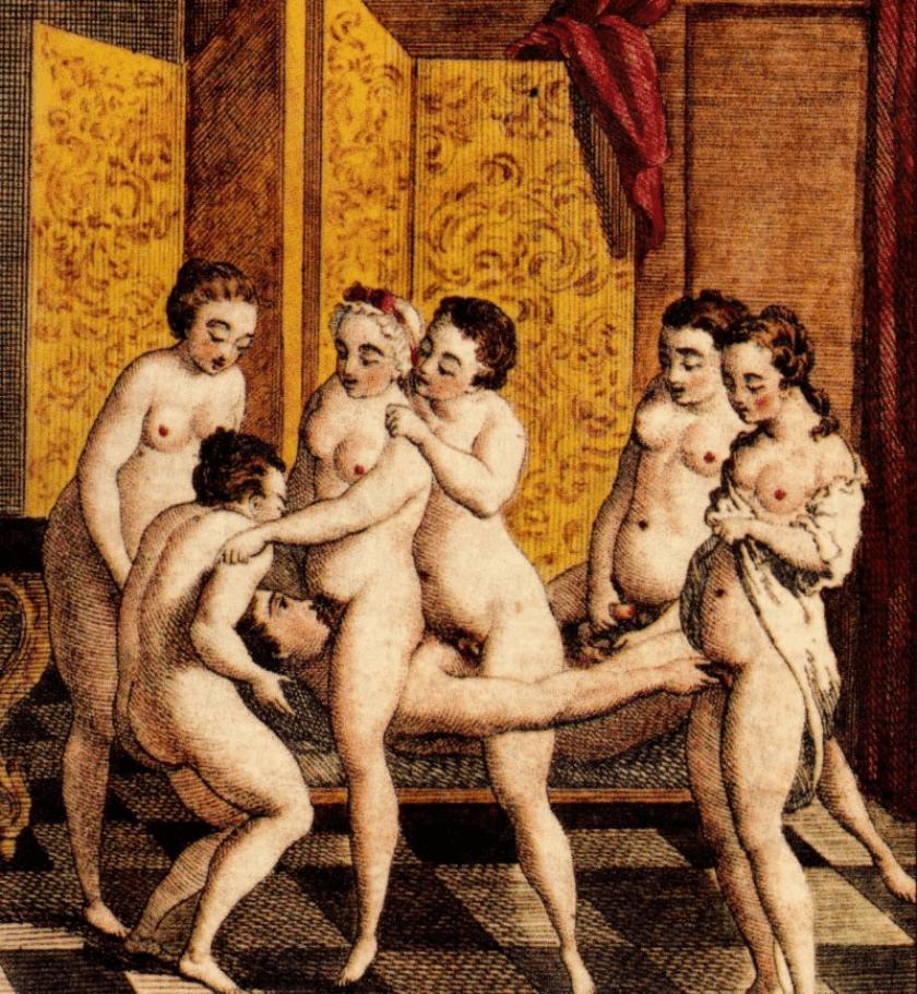 Marques de Sade, perversiones