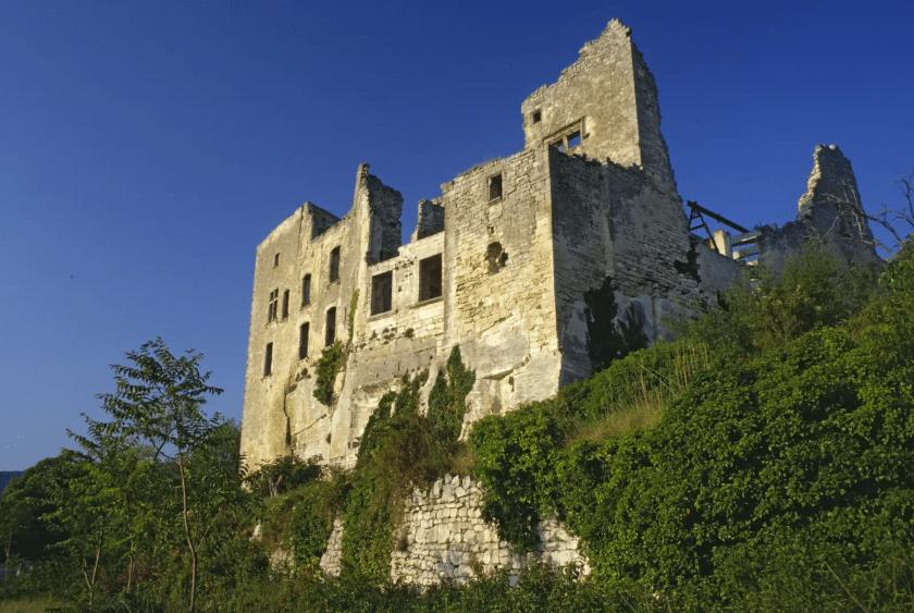 castillo del Marqués de Sade en Lacoste