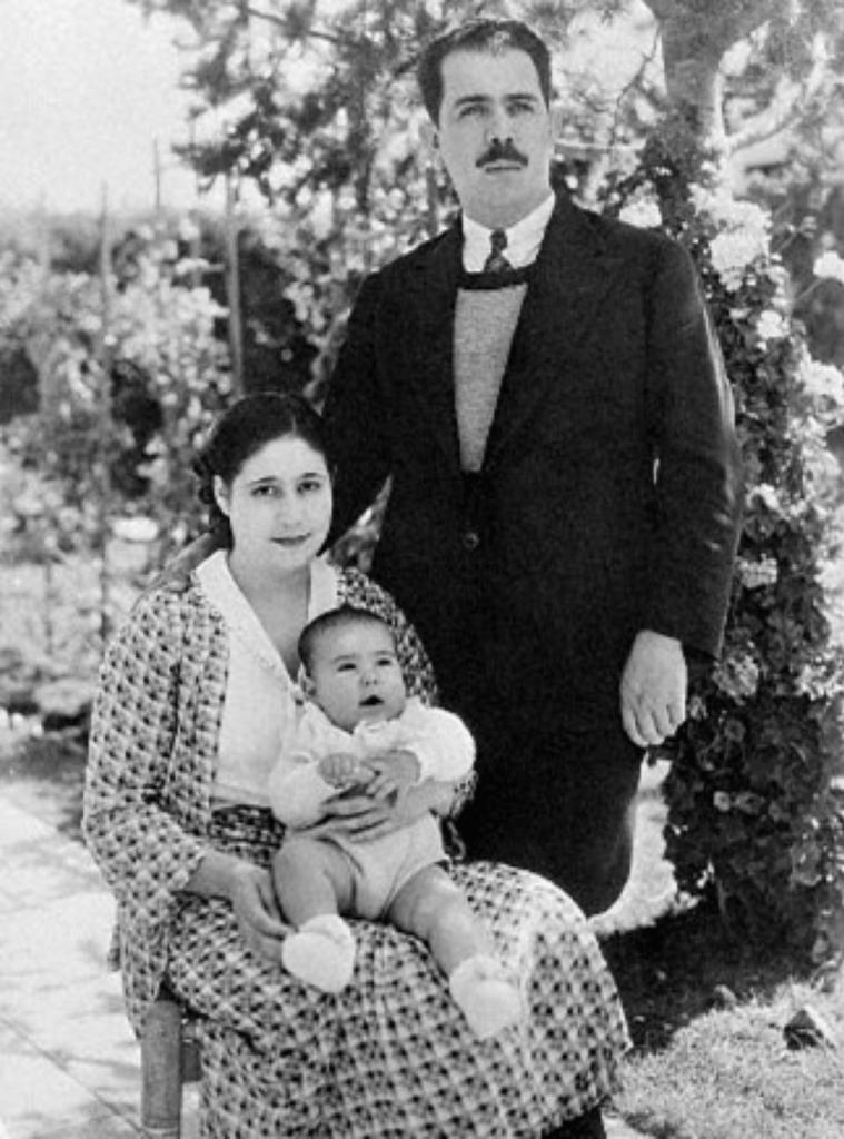 Lázaro Cárdenas y familia
