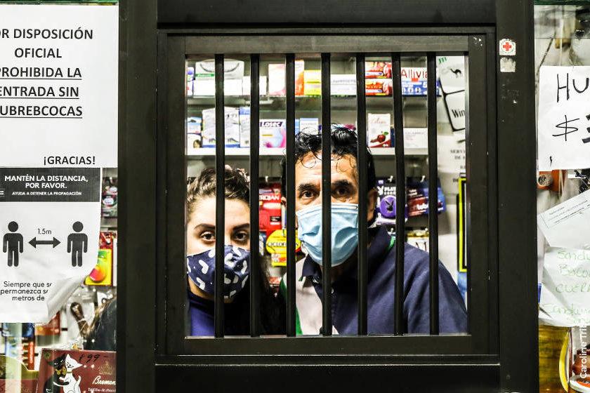 encerrados contagio covid