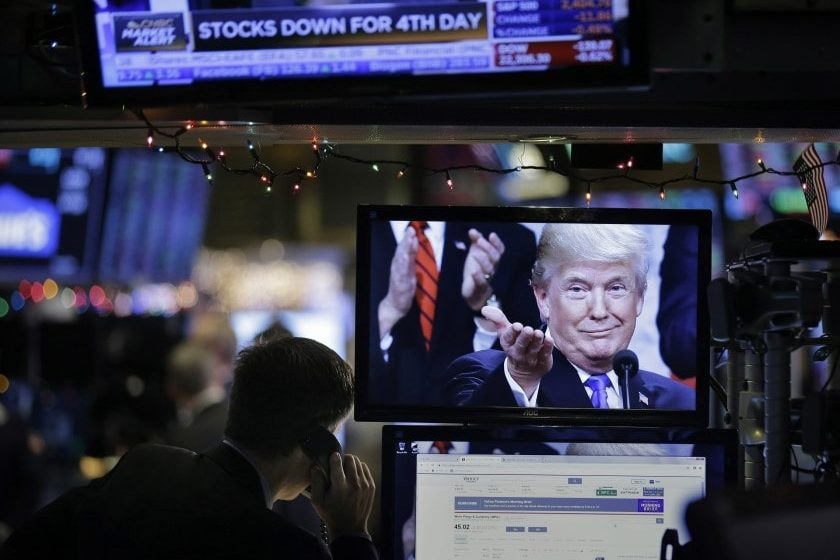 Trump dio positivo a COVID; mercados reaccionan