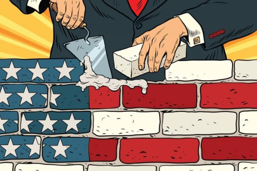 Estados Unidos y Mexico, muro, vecinos